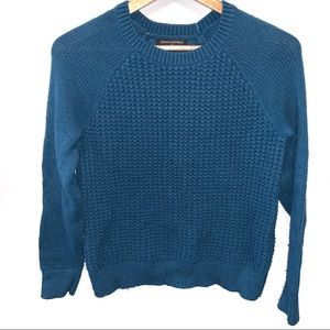 Banana Republic Square Knit Sweater Crew Neck